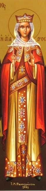 ايقونات القديسة دروسيس الرومية والشهيدات العذارى الخمس اللواتي